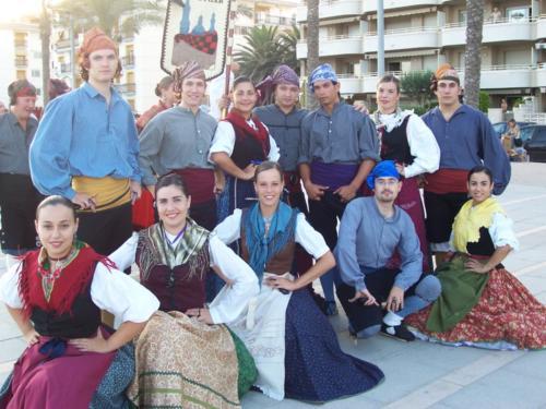 """XV Encuentro Internacional de folclore """"Ciudad de Zaragoza"""" (CIOFF, septiembre 2006)"""