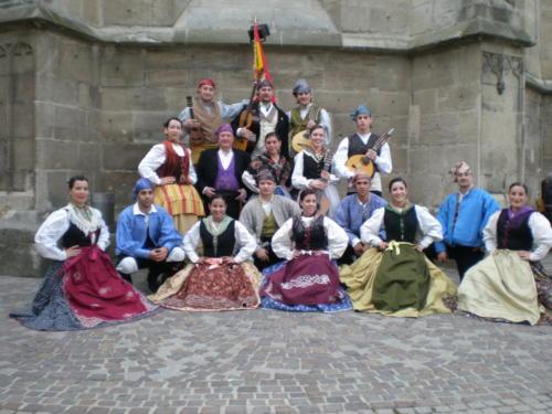 """Festival Internacional """"Volkstanzfestival"""". Balingen, Alemania (mayo 2011)"""