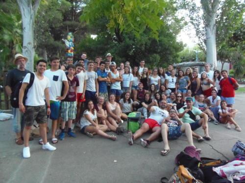 Encuentro de Internacional de Folklore Juvenil en Zaragoza (agosto 2017)