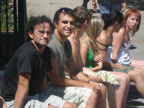 "Festival Internacional de folclore ""Saint Symphorien"". Arles, Francia (agosto 2008)"